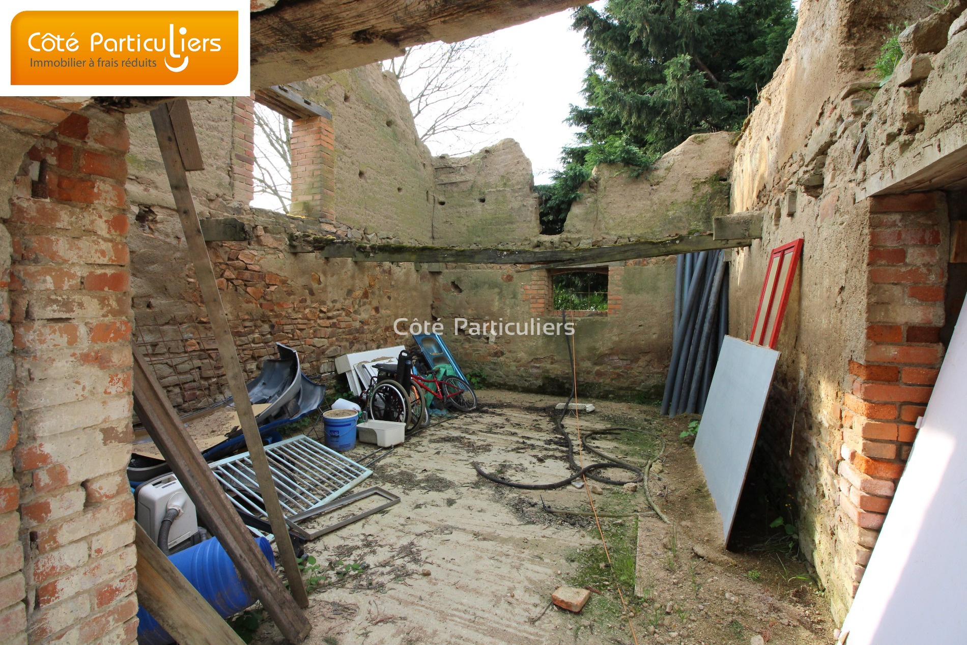 Vente terrain constructible 1 400 m2 for Prix du m2 non constructible
