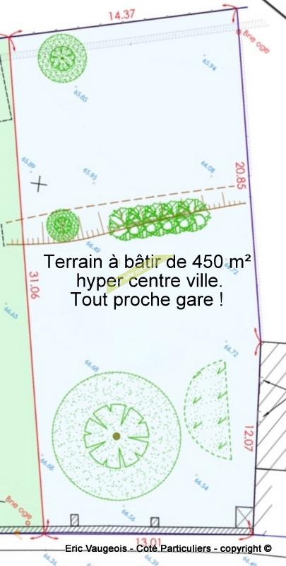 Vente Terrain Terrain à bâtir de 450 m² a deux pas Gare et centre ville  à Meaux