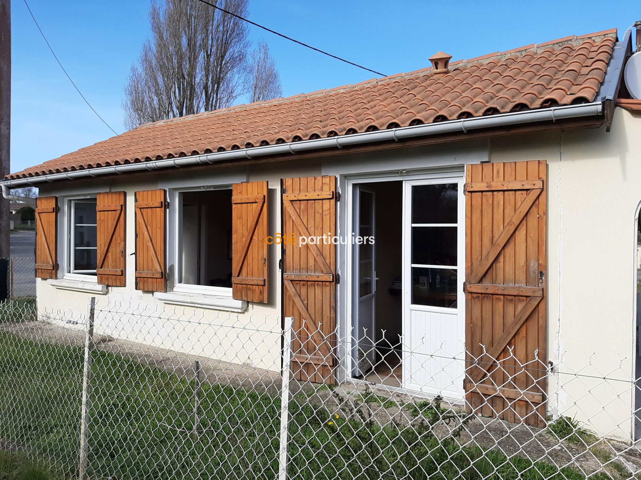 Vente Soulac Sur Mer Maison De Plain Pied D Environ 50m2 2 Chambres Sur Un Terrain De 455m2